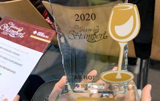 Goldenes Stamperl für Franz Neuninger, 3/2020